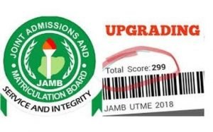 Upgrade jamb result