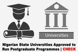 Universities Approved Run Postgraduate Programmes